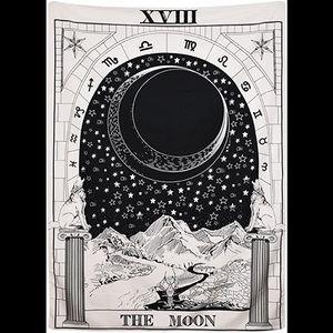 Moon Tarot Tapestry